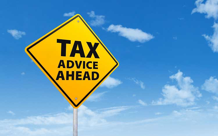 Tax advice ahead